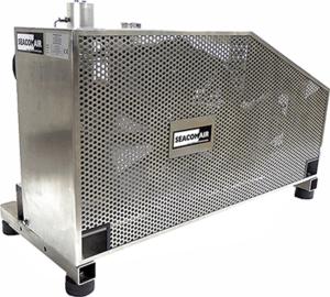 SCA140E21 OSS Edelstahl Rahmen Kompressor