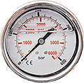 Hochdruck-Manometer 400bar